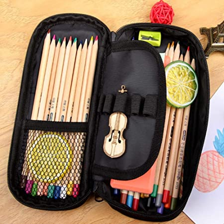 Pallima Pencil Case Postre Gourmet Cuadrado Impermeable Estuche para lápices Estuches cosméticos para Adolescentes niños Escolares Monedero Bolsas de Maquillaje: Amazon.es: Hogar