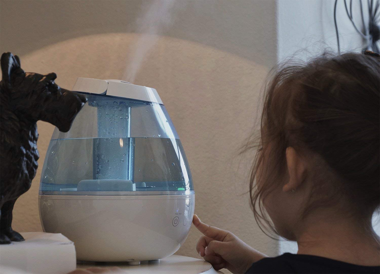 Tekjoy Cool Mist Humidifier, Premium Ultrasonic Humidifiers 7 Night Light Bedroom Baby, Whisper Quiet, Auto Shut-Off, 360° Nozzle, Touch Panel, Timer, Filterless Vaporizer by Tekjoy (Image #7)