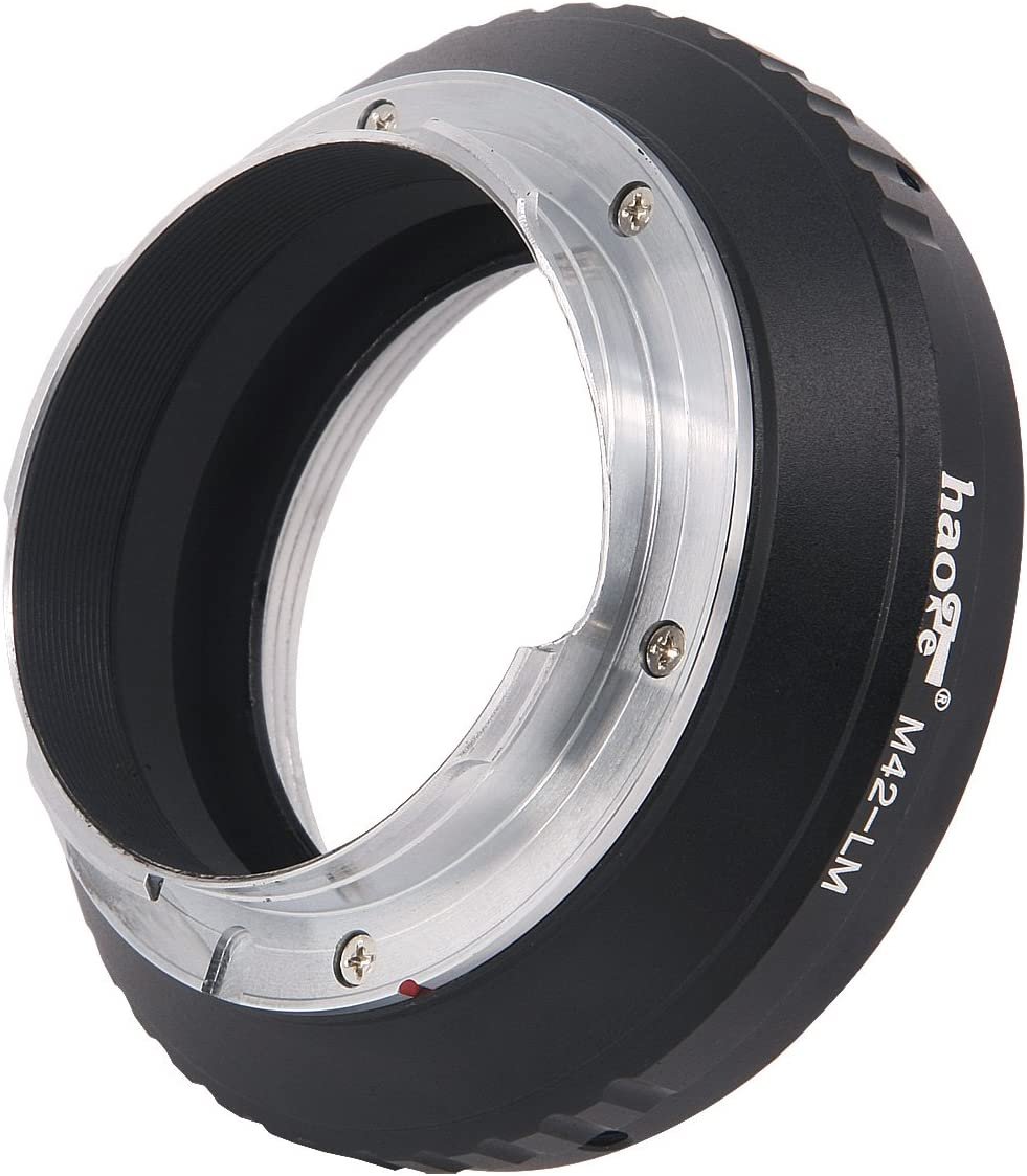 M262 M9-P M1 M2 M M Monochrom M3 M4 M-A Haoge Lens Mount Adapter for M42 42mm Screw Mount Lens to Leica M LM Mount Camera Such as M240 MP M7 M-E M240P M8 M9 M6 M-P M5 M10