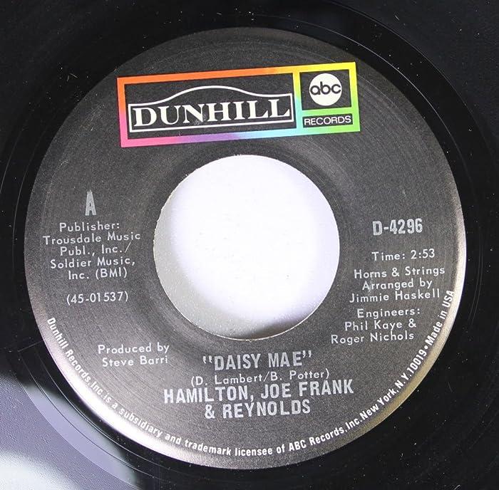 Top 7 Hamilton Joe Frank And Reynolds Greatest Hits Cd
