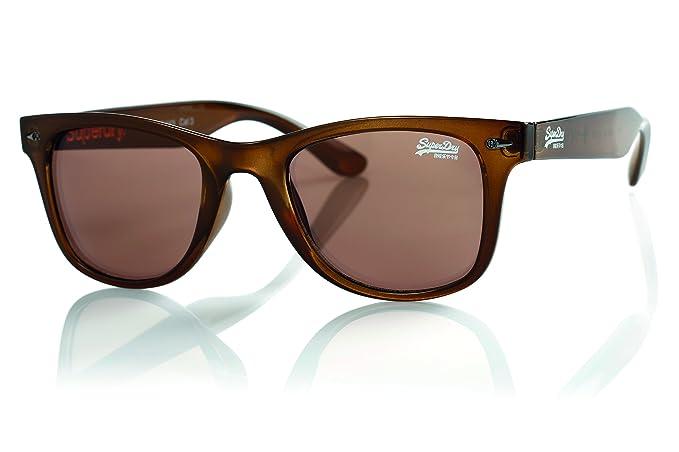 Superdry - Gafas de sol - para hombre marrón Talla única ...