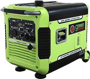 Green-Power America GPG3500iE 3500W Inverter Generator