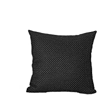 Do4U Home Decorative Hand Made Pillow Cover Cotton Linen Waterproof Throw Pillow Case Cushion Cover for Travel Use,Indoor, Outdoor,Rattan Sofa 18 x18 inches
