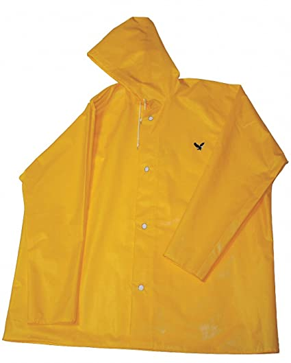 super service shop for best complete range of articles Unisex Polyurethane Rain Jacket with Hood, Size 4XL, Fits ...