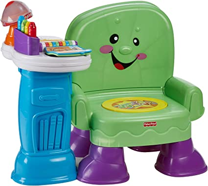 Amazon Com Fisher Price Song And Story Learning Chair Toys Games