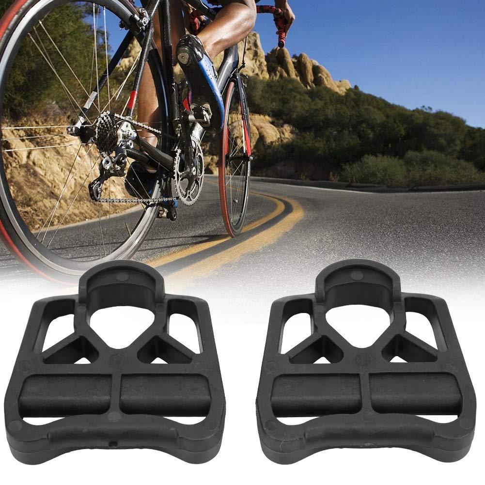 Zouminy Adaptador de Plataforma de Ciclismo de Pedal de Bicicleta de Carretera de 2 Piezas Convertido para la Serie Look KEO