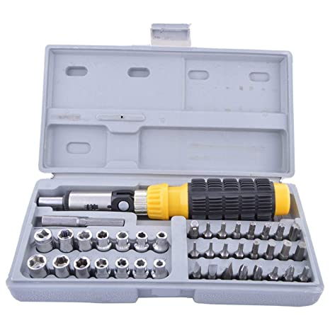 1431261ae Buy Generic Aiwa 41 In 1 Pcs Tool Kit and Screwdriver and Socket Set Online  at Low Prices in India - Amazon.in