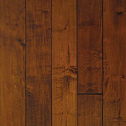 Millstead Handscraped Maple Spice 34 In Thick X 3 14 In Width X