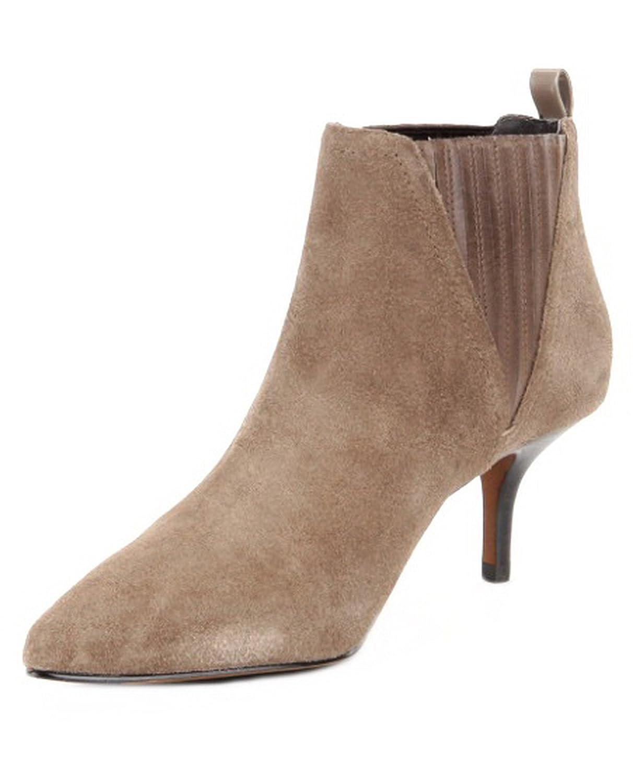DONALD J PLINER Womens Faie Suede Kitten Heel Booties Sz 7 7.5 8 9 9.5 260924E (7, Almond)