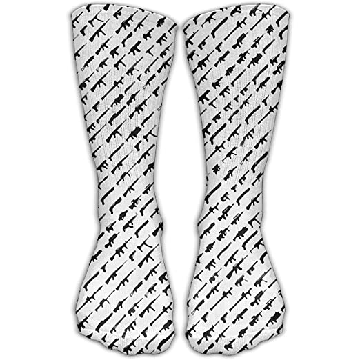 c149f897694e00 Amazon.com  Unisex Breathable Perspiration Cotton Socks Rogue Status Gun  Show Ankle Socks Athletic Socks Casual Sport Socks  Clothing