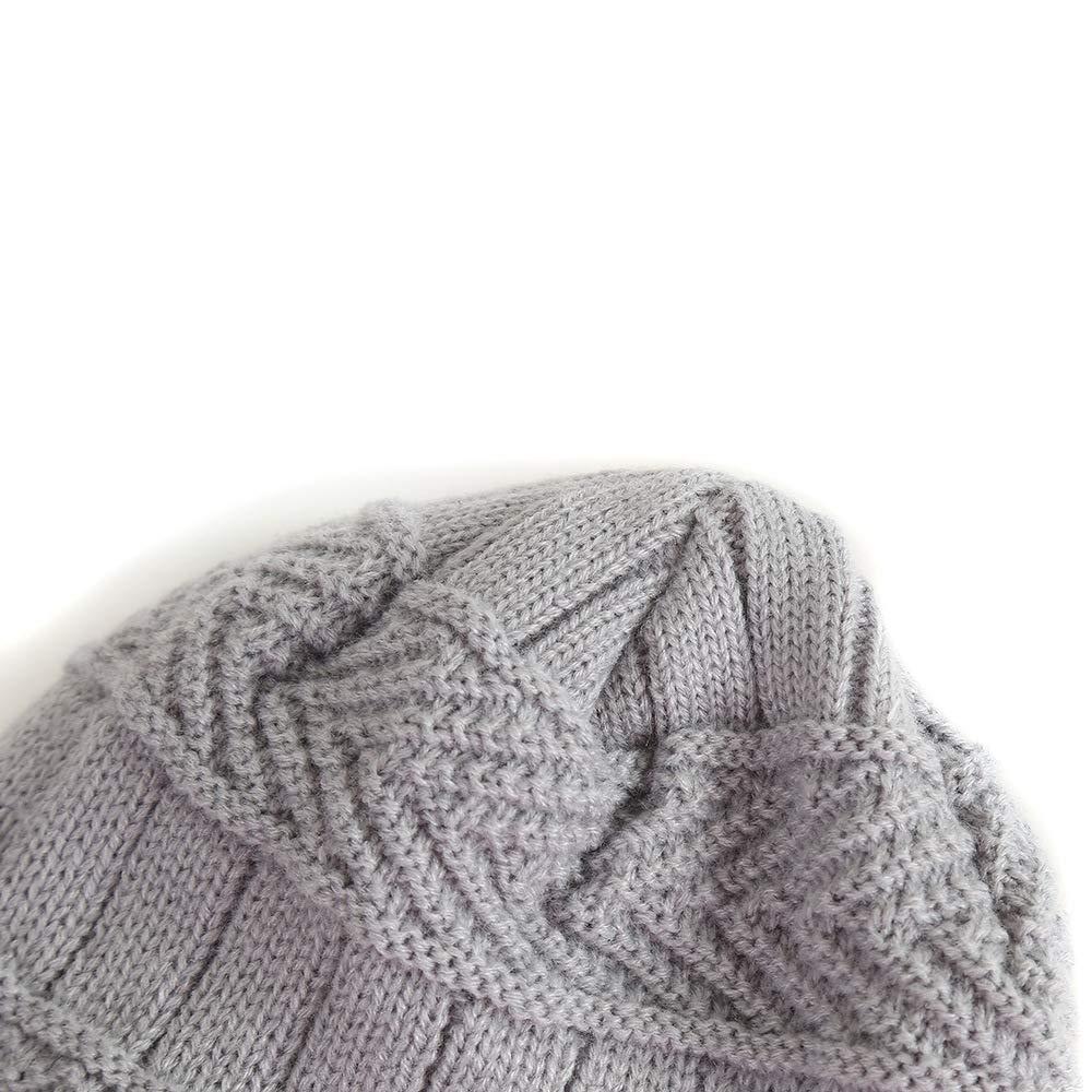 sciarpa scaldacollo cappello invernale caldo bambino in morbida fodera di lana Cappello da Sci allaperto e Set Sciarpa Tukistore Bambino Maglia cappello 1 /– 8 anni