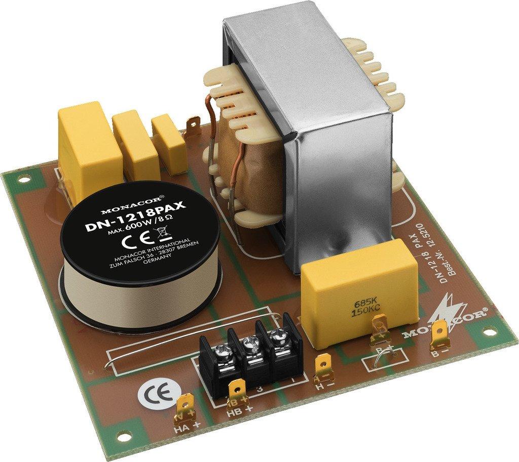 DN-1218PAX LS Rete Crossover - 125210 Monacor 12.5210