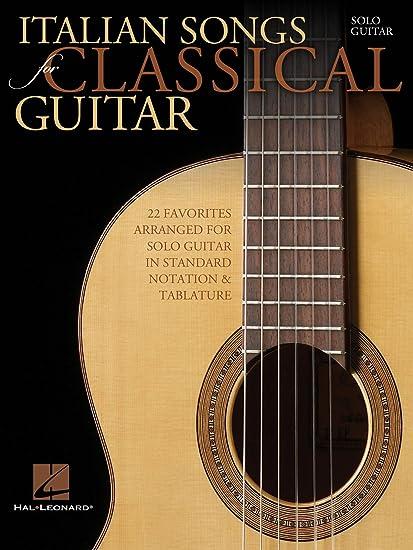 Diseño de bandera de Italia canciones para guitarra clásica: Hal ...