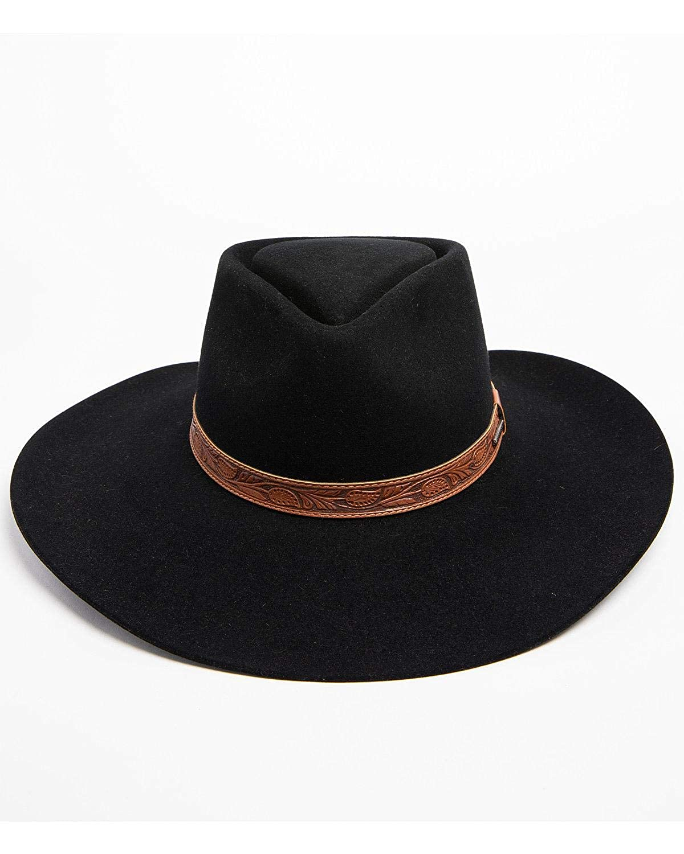 Stetson Mens Longmont 6X Felt Cowboy Hat Sflgmt-8840