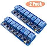 2pcs 8 Channel DC 5V Relay Module with Optocoupler for Arduino UNO R3 MEGA 2560 1280 DSP ARM PIC AVR STM32 Raspberry Pi