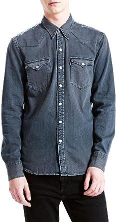Levis Camisa Vaquera Levis Barstow Western Gris XL Gris ...
