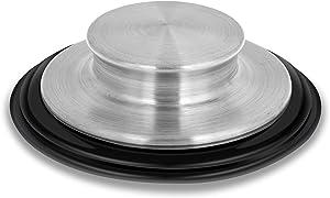 3 3/8 inch Kitchen Sink Stopper Stainless Steel Garbage Disposal Plug Kitchen Sink Plug Fits Standard Kitchen Drain Size of 3 1/2 Inch (3.5 Inch) Diameter