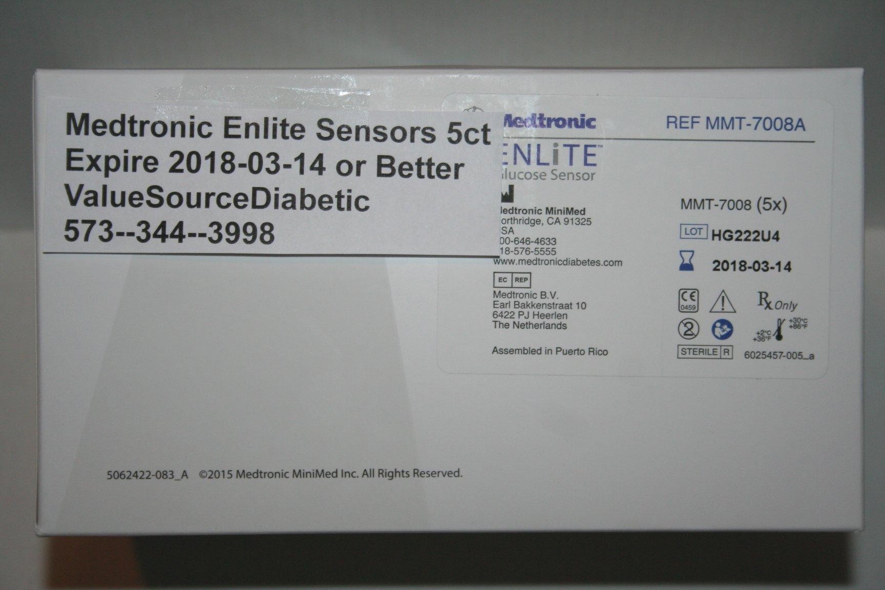 Glucose Enlite Sensor (5 count)