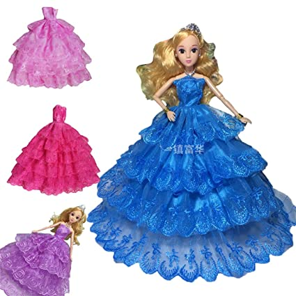 Amazon.com: baby box Kids Gift 4 Sets Vintage Princess Big Dress ...