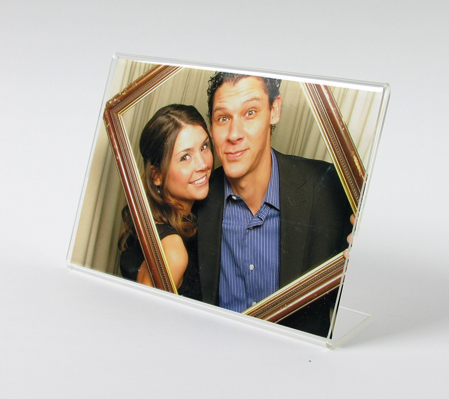 144 pack of 6''x4'' Acrylic Picture Frames, Sign Holders, Wholesale … by Photo Booth Nook