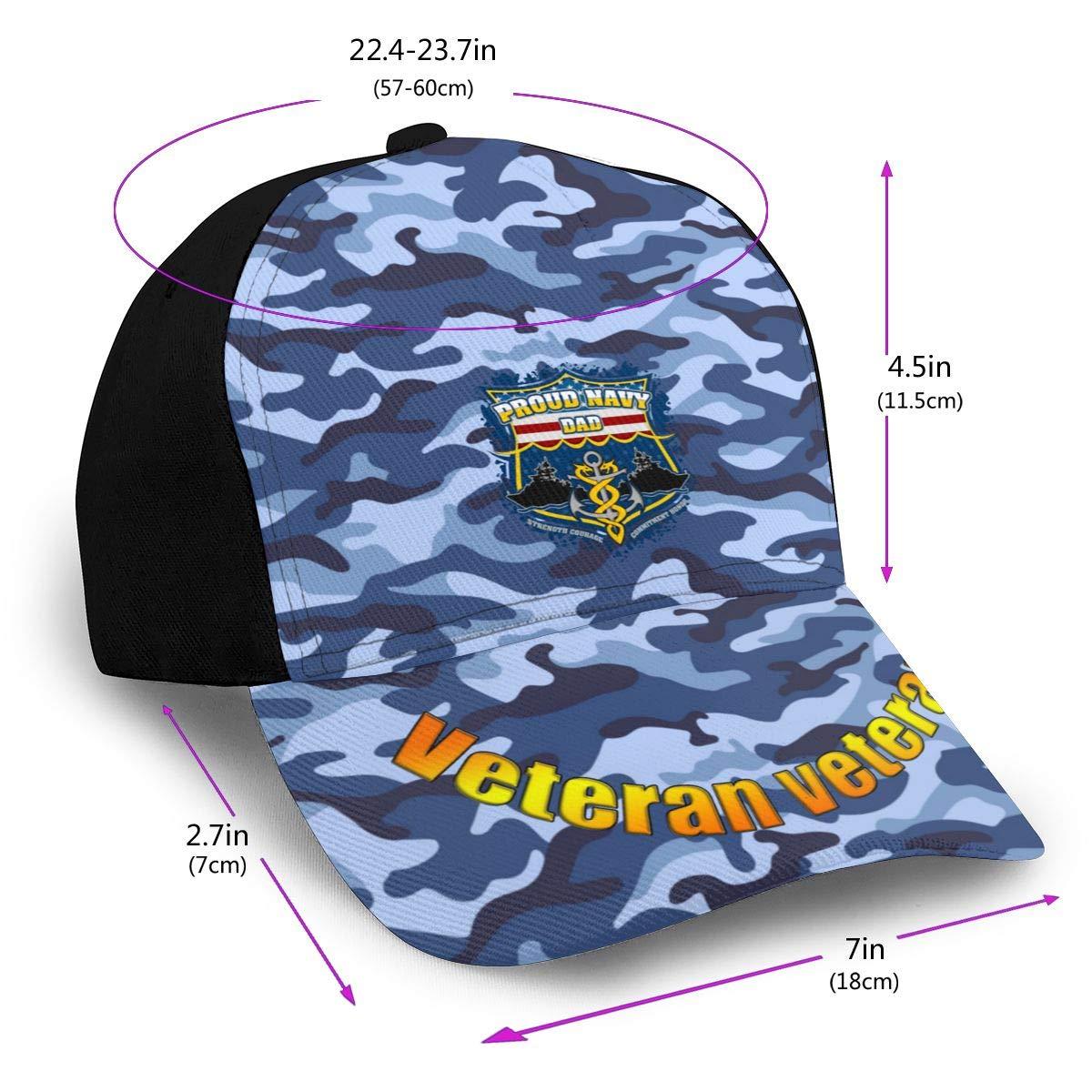 Proud Navy Dad Classic Adult Cap Printing Duck Tongue Baseball Hat Snapback Men Women Cap Adjustable