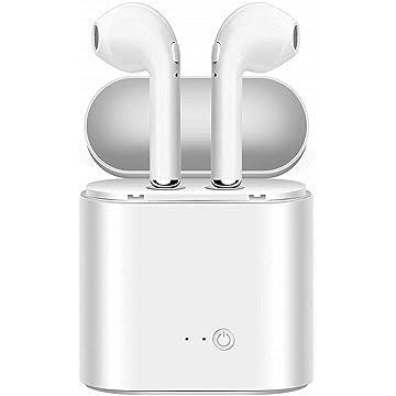 Tksvopon Earphone, HD Stereo Headset 4.2 Waterproof Sports Earbuds for Gym Running Sport