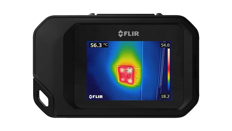 FLIR 72003-0303térmico de bolsillo cámara con Wi Fi, Negro