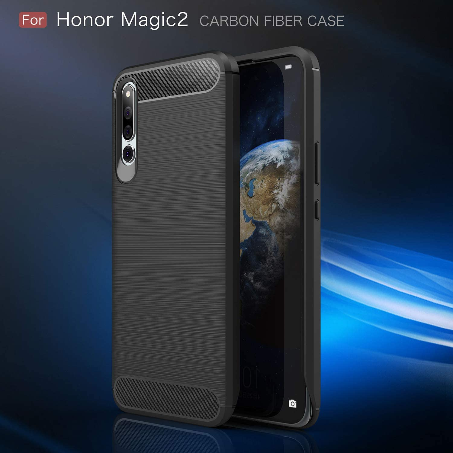 YFXP Funda Huawei Honor Magic 2 con Cristal Templado, Huawei Honor ...