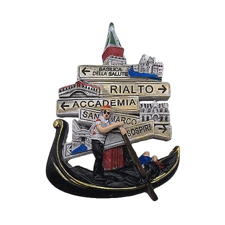 Venecia Italia 3D Imán de Refrigerador Recuerdos Turísticos Resina ...