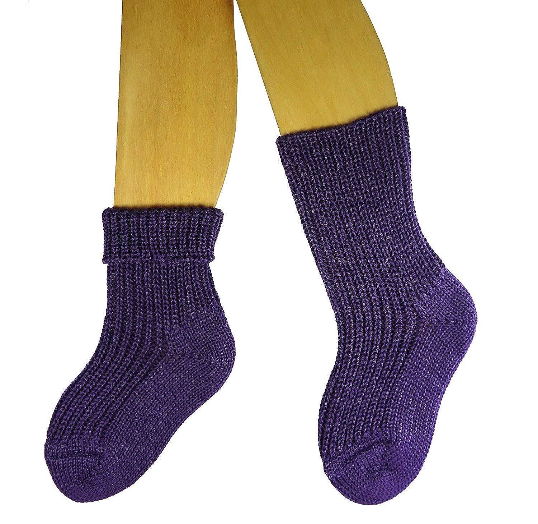 Shimasocks Baby Kinder /Öko Socken 1:1 Rippe
