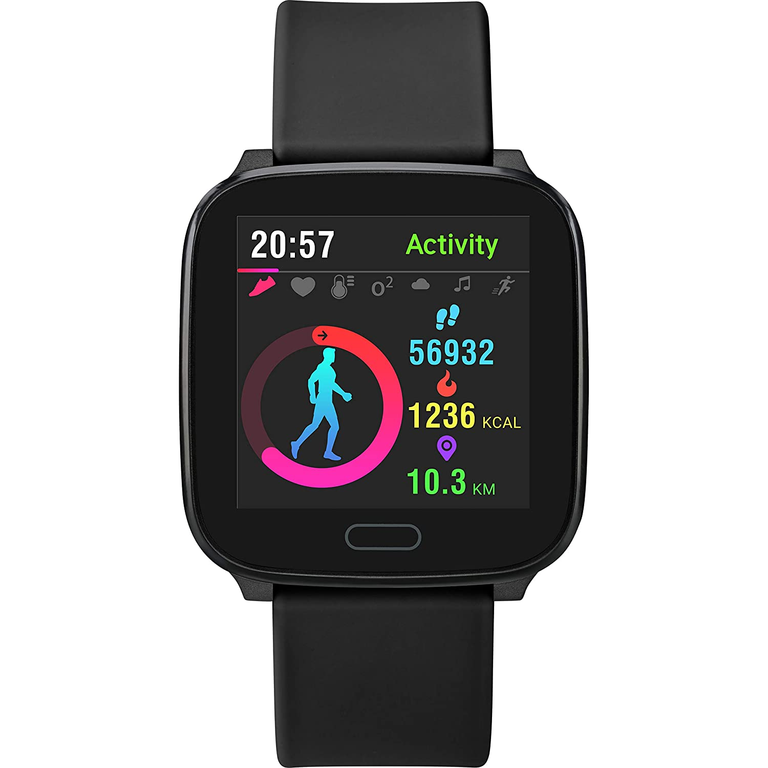 Amazon.com: iConnect by Timex Active Edition Smartwatch ...