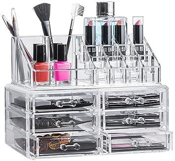 Solly´s Kira   Aufbewahrungsbox Für Make Up Und Schmuck, Kosmetik Organizer  Aus Acryl