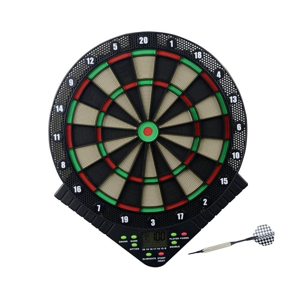 BleuMoo Electronic Dart Board Security darts set Plastic darts Soft darts