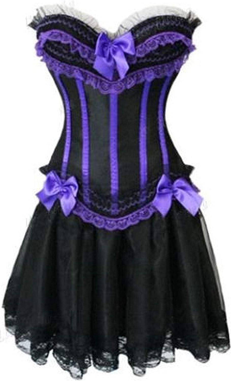 Forever Young Ladies Corset Vestido Burlesque Moulin Rouge Loita ...