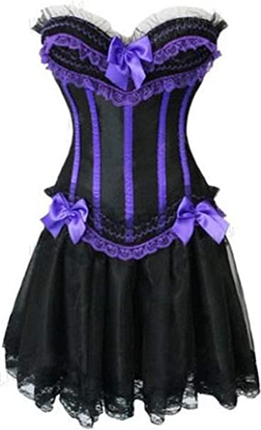 Forever Young Ladies Corset Vestido Burlesque Moulin Rouge ...