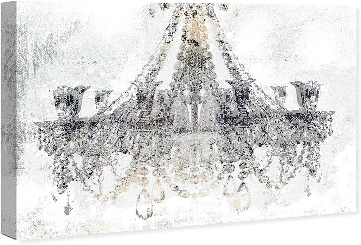 Amazon Com Oliver Gal White Gold Diamonds The Classic Wall Art Decor Collection Contemporary Premium Canvas Art Print Posters Prints
