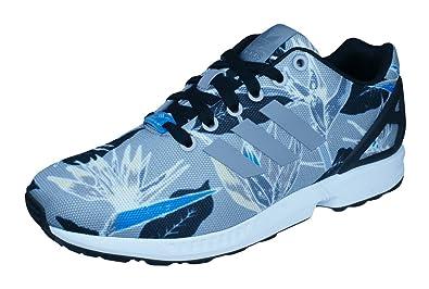 huge selection of ca200 636cf adidas Zx Flux, Herren Sneakers, grau - Gris Negro - Größe  EU