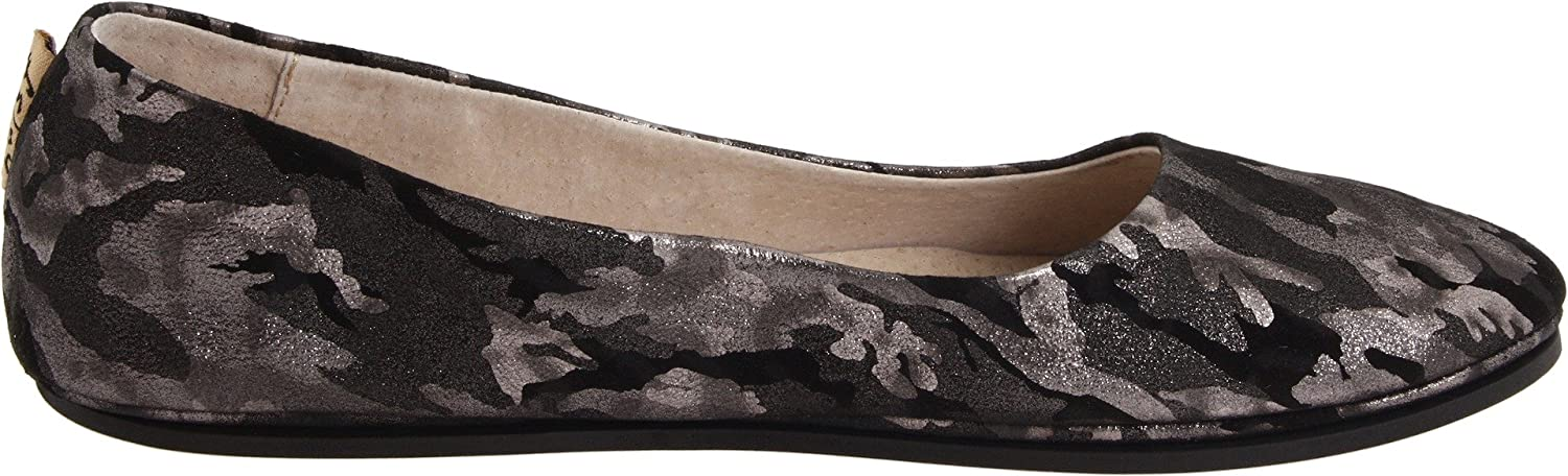 French Sole FS/NY Women's Sloop Ballet Flat B0058S8RC2 9.5 B(M) US Pewter Camo