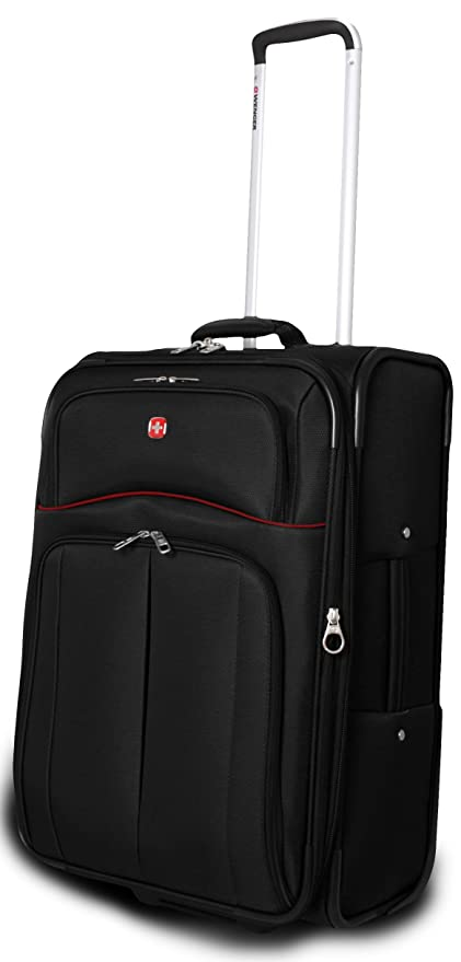 Wenger Lugano Suitcase - Black, 24-inch