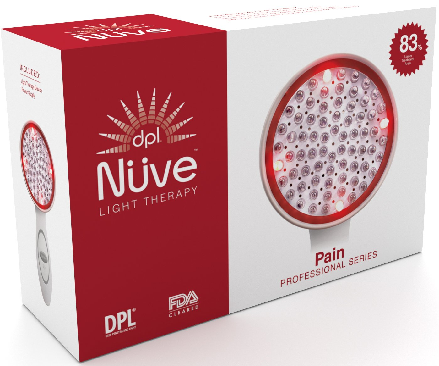 LED Technologies, DPL Nuve N72 XL Pain Relief, Light Therapy Handheld System by LED TECHNOLOGIES (Image #3)