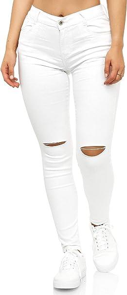 Elara Jeans da Donna Vita Alta Slim Fit Chunkyrayan