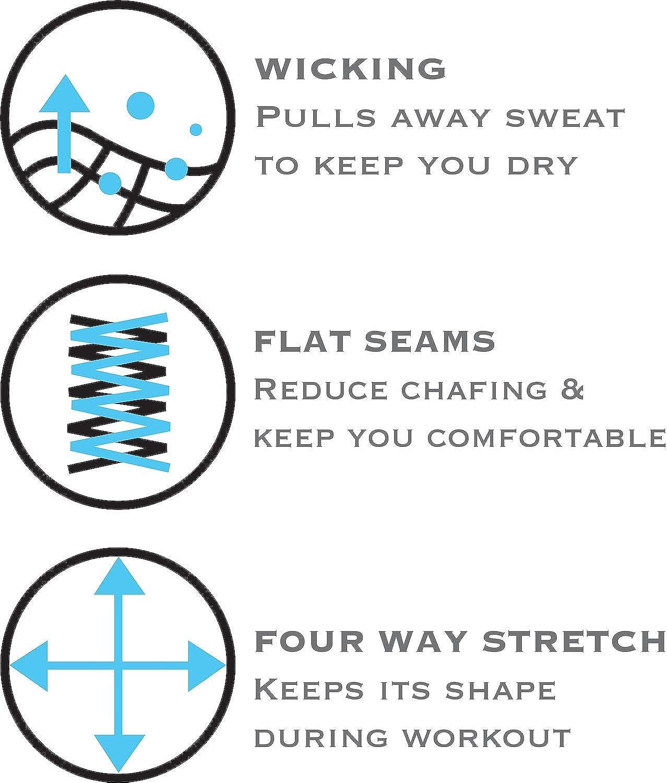 High Waist Tummy Control Power Flex Women/'s Athletic Sports Bra /& Leggings Set