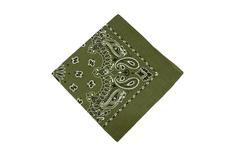 Amazon.com  ROTHCO TRAINMEN BANDANA - OLIVE DRAB  Clothing 6f16a5d737