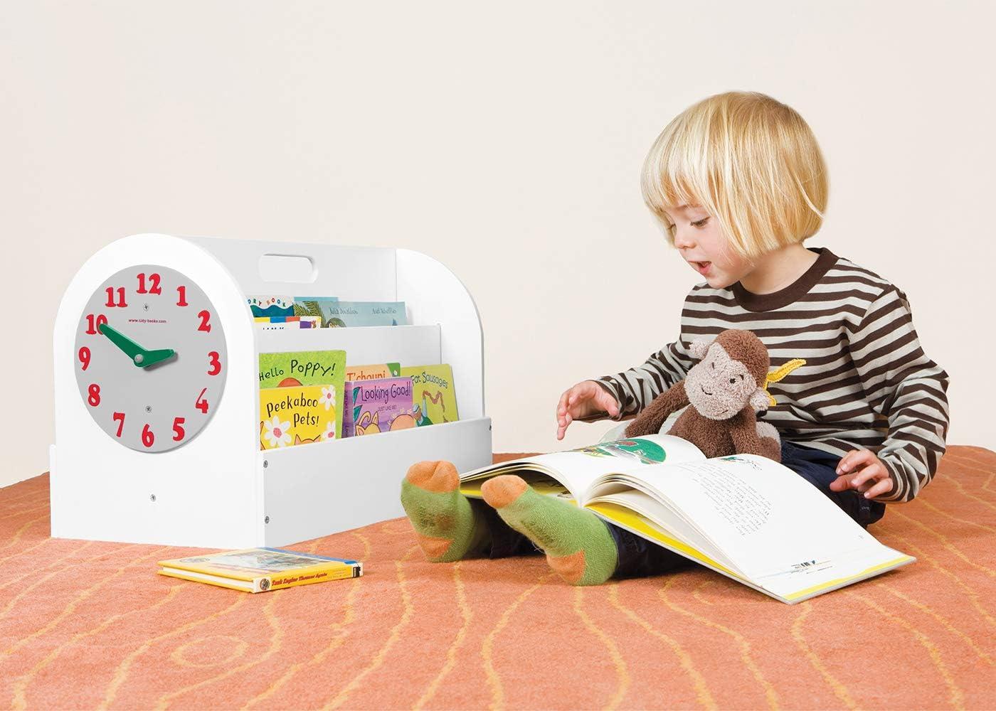 Tidy Books Kids Book Storage Box Age 3-10 Small Portable Book Case