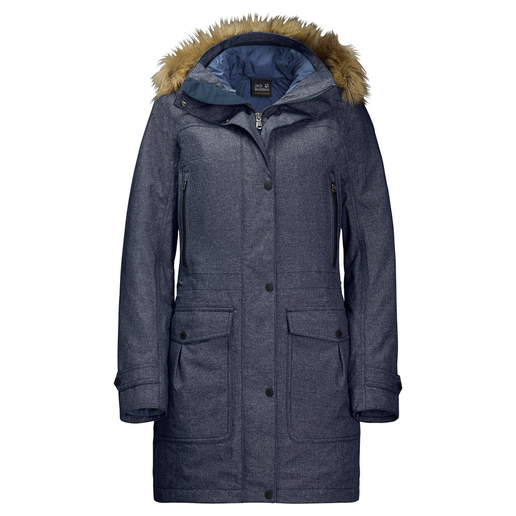 JACK WOLFSKIN Damen 3in1 Mantel MAJESTIC PEAKS, night blue