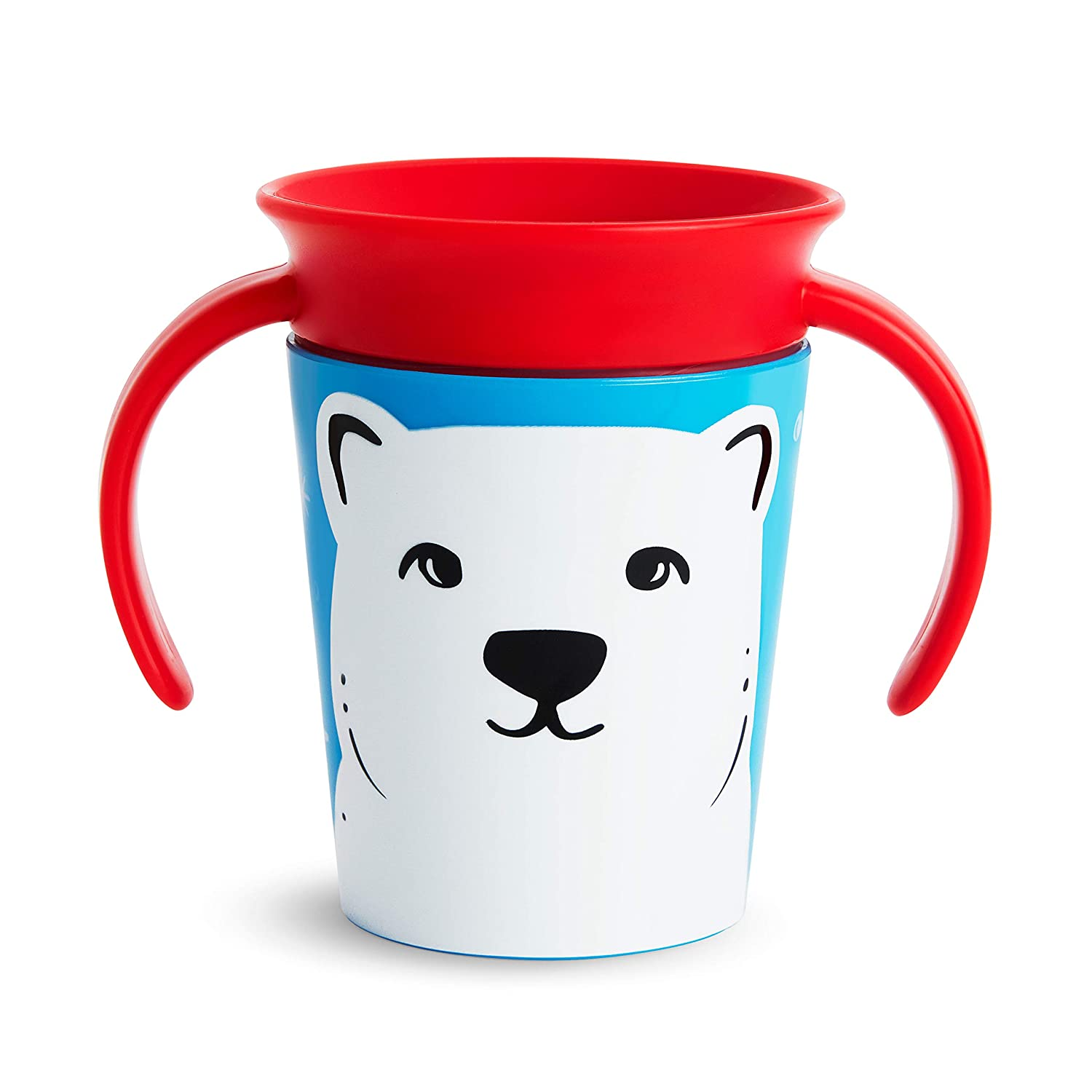 Munchkin Miracle 360 WildLove Trainer Cup, 6 Oz, Polar Bear