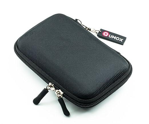 1363 opinioni per QUMOX Nero 2.5 HDD sacchetto di nylon per Hard Disk portatile rigido Caso Doppia