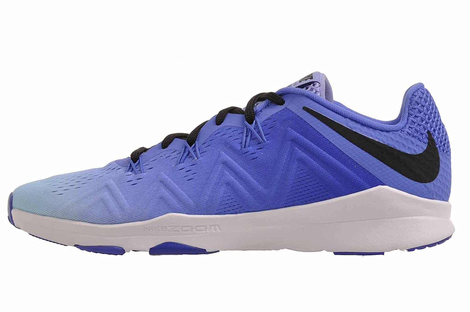 NIKE Women's Zoom Condition TR Cross Trainer B005AOP14Q 8 B(M) US|Medium Blue/Black/Light Thistle
