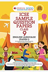 Oswaal ICSE Sample Question Papers Class 9 English Paper 1 Language (For March 2020 Exam) Kindle Edition