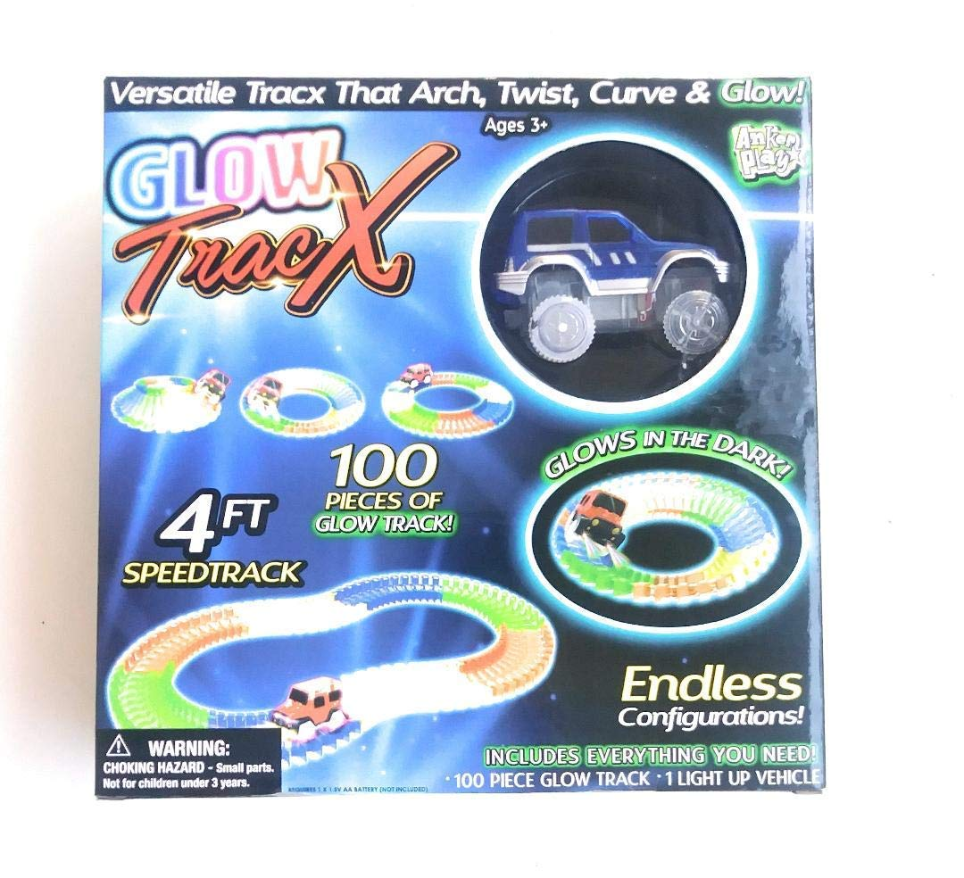AnkerPlay Glow Tracx 4ft Speedtrack 100 Pieces Glow Track